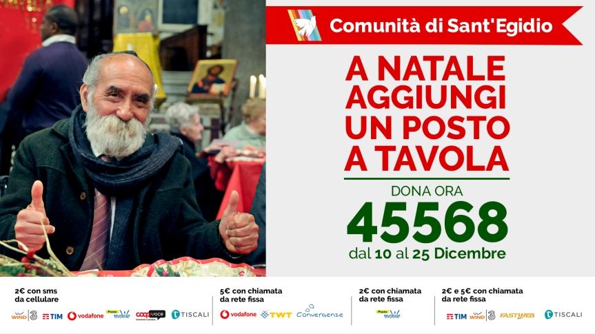 PAESE_DELLA_SERA_Campagna Natale 2017 - SantEgidio